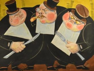 Иллюстрация из сказки Юрия Олеши